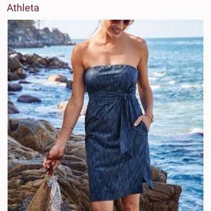 Athleta Strapless Dress 2